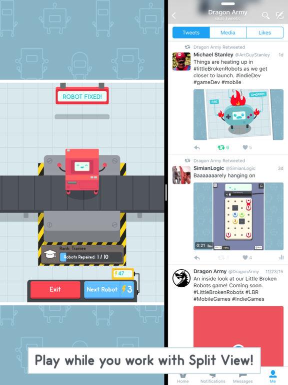 Little Broken Robots Screenshot
