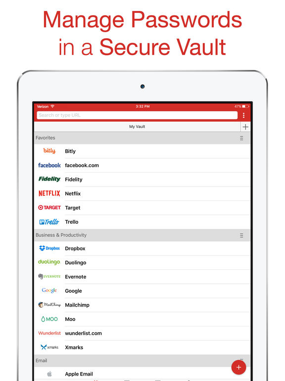 LastPass Password Manager & Secure Digital Vault for Premium Customers Screenshot
