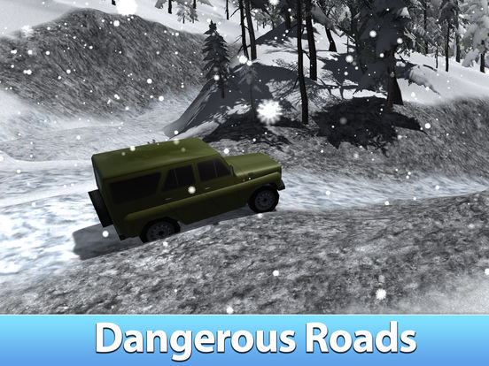 Winter Offroad UAZ Simulator 3D Full - Drive the Russian truck! Screenshots