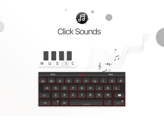 TouchPal Tastatur - Farben, Schriften und Emoji Screenshot