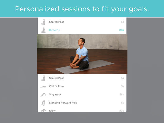 FitStar Yoga Screenshot