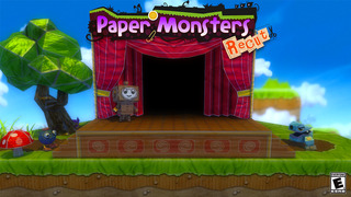 Paper Monsters Recut! iOS Screenshots