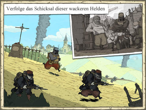 Valiant Hearts: The Great War iPhone iPad