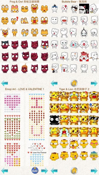 Stickers Pro 1 with Emoji Art for Messages' in de App Store: https://itunes.apple.com/nl/app/stickers-emoji-art-for-whatsapp...
