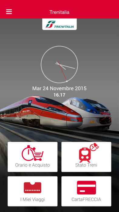 Trenitalia Screenshots
