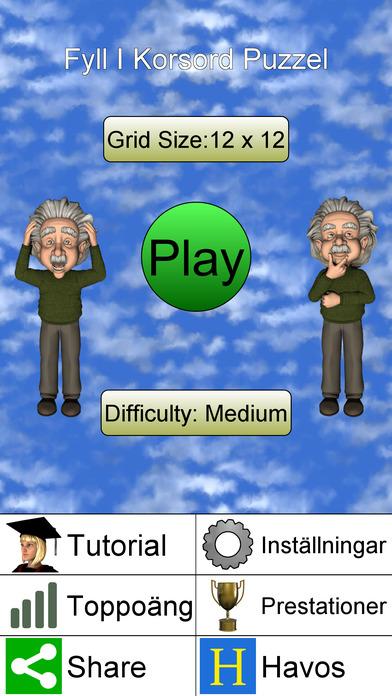 Fyll I Korsord Puzzel + på App Store