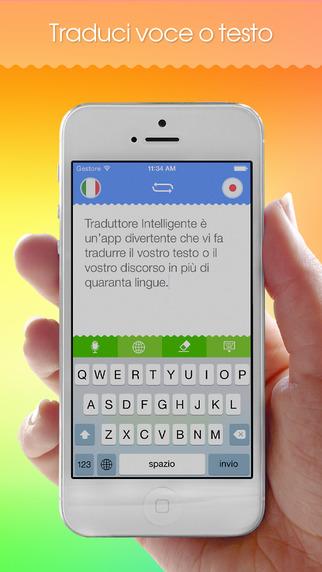 Traduttore intelligente traduzione scritta e parlata da for Traduttore apple