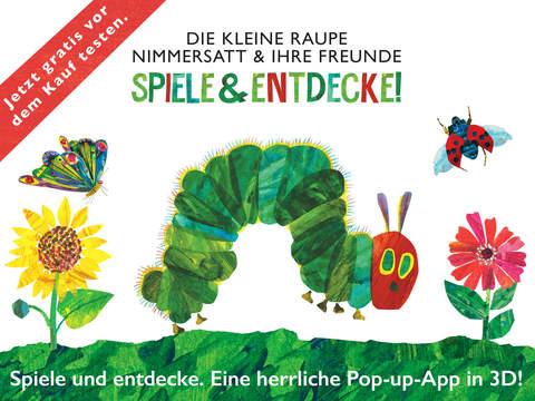 Die kleine Raupe Nimmersatt & ihre Freunde: Spiele & entdecke! Kostenlos Screenshot