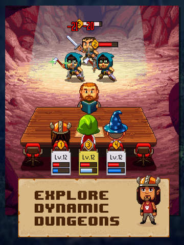 Knights of Pen & Paper 2 iPhone iPad