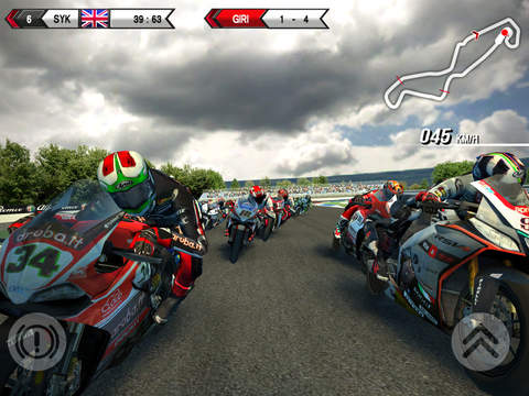 SBK15 - Official Mobile Game iOS Screenshots