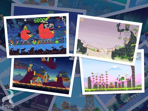 Screenshot 5 Angry Birds Seasons HD