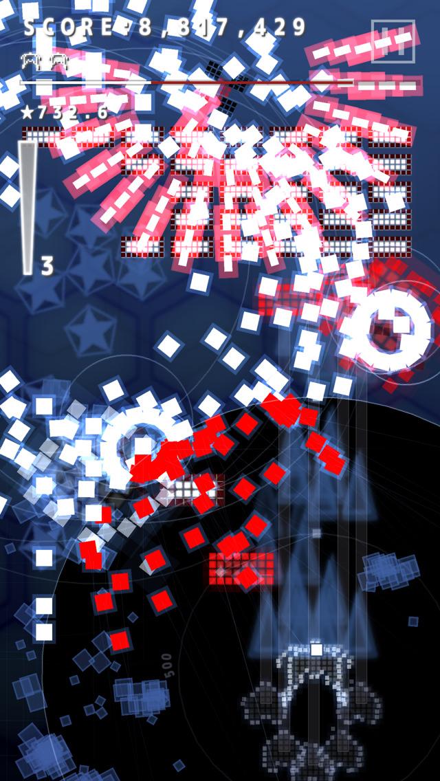.Decluster Zero: Bullet Nocturne iOS Screenshots