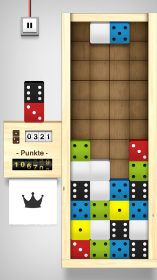 Domino Drop iPhone iPad