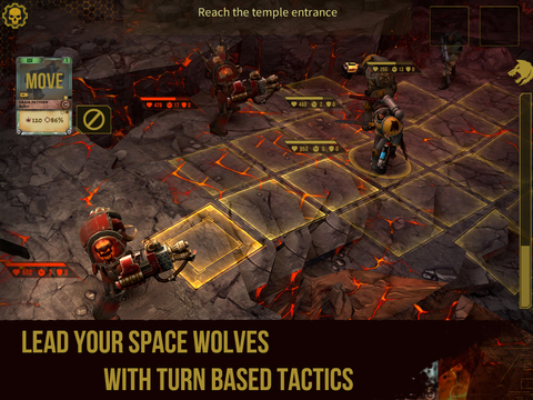 Warhammer 40,000: Space Wolf iPhone iPad