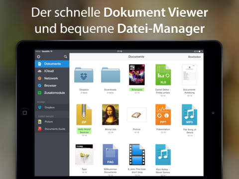 Documents 5 - Schneller PDF-Betrachter und Cloud Download-Manager Screenshot
