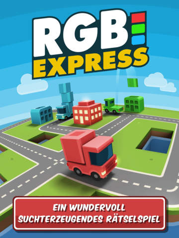 RGB Express - Das Mini-Lastwagenpuzzle iOS Screenshots