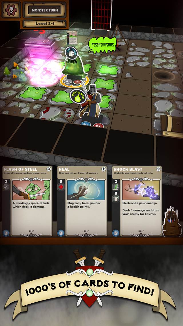 Card Dungeon iOS Screenshots