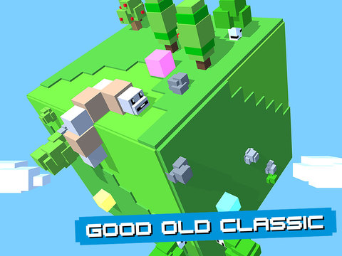 Cube Worm iOS Screenshots