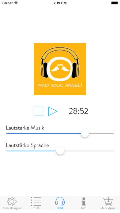 Screenshot for Find Your Angel! Kontakt mit Deinem Engel aufnehmen mit Hypnose in Germany App Store