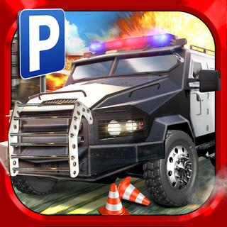 Police Car Parking Simulator Game - Gratuit Jeux de