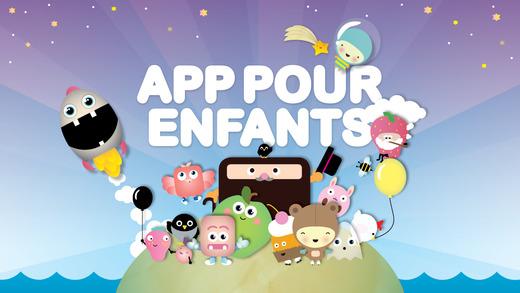 app pour enfants gratuit jeu enfants en fran ais dans l app store. Black Bedroom Furniture Sets. Home Design Ideas