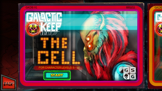 Galactic Keep iPhone iPad