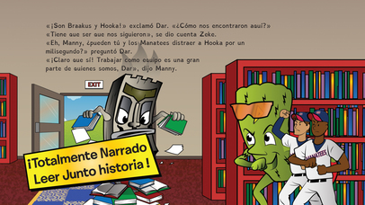 download El orgullo del jonrón: Leer con la Tribu apps 4
