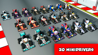 MiniDrivers - The game of mini racing cars iOS Screenshots