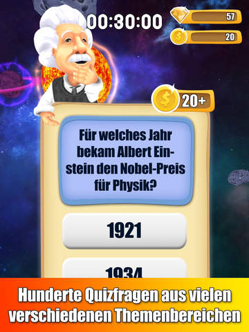 Einstein Quiz Runner iOS