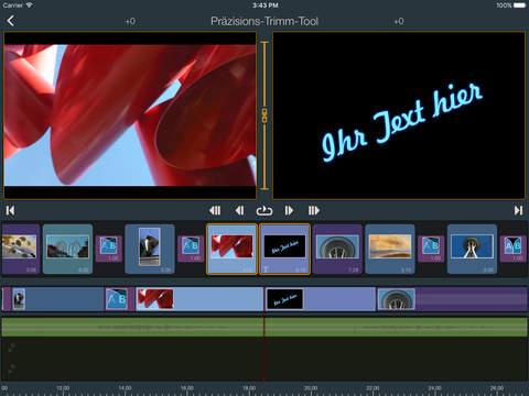 Pinnacle Studio Pro - professionelle videobearbeitung Screenshot