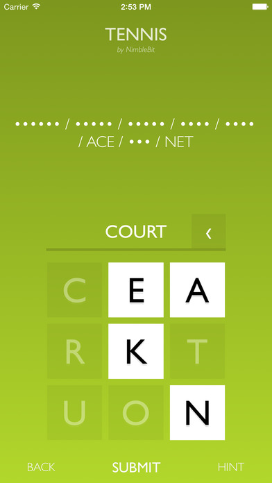 Letterpad - Free Word Puzzles Screenshot