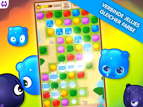 Jelly Splash iOS Screenshots