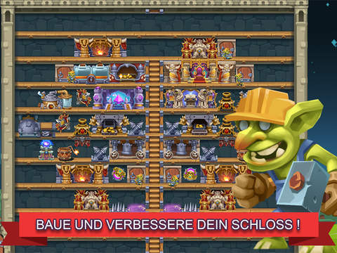 Monster Castle — Kämpfe für deine Allianz! iOS Screenshots
