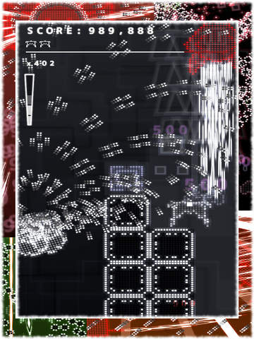 Screenshot 2 .Decluster: Into the Bullet Hell