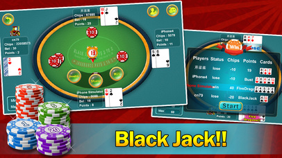 black jack points