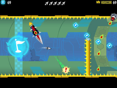Tilt to Live: Gauntlet's Revenge iOS Screenshots