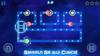 Glow Monsters: Labyrinth Spiel iOS Screenshots