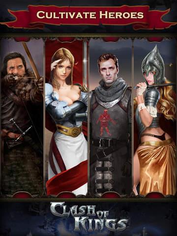 Clash of Kings - CoK iPhone iPad