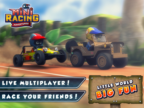 Mini Racing Adventures iOS Screenshots