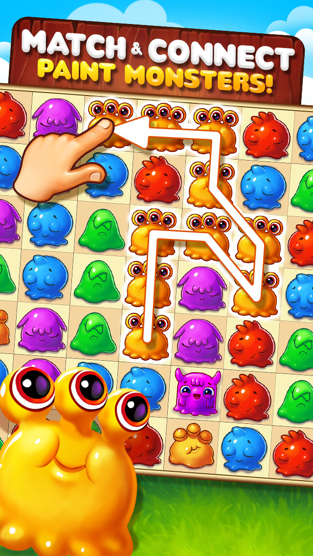 Farbmonster iOS Screenshots