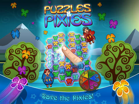 Puzzles & Pixies iOS Screenshots
