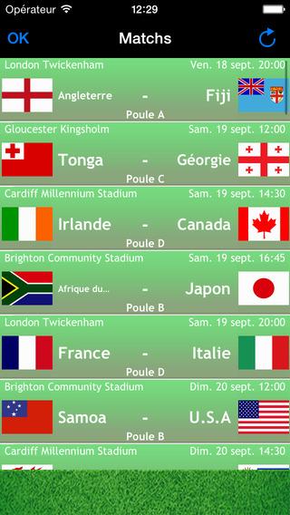 Rugby coupe du monde 2015 calendrier gratuit des matchs - Calendrier de la coupe du monde de rugby 2015 ...