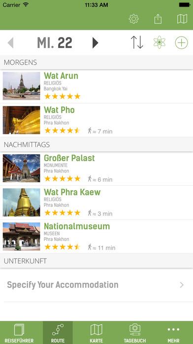 Bangkok Reiseführer (Offline Stadtplan) - mTrip Screenshots