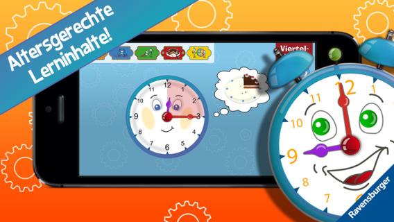 Screenshot 4 Meine erste Uhr – Die Uhrzeit lesen lernen
