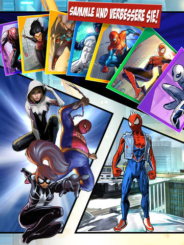 Spider-man Unlimited iPhone iPad