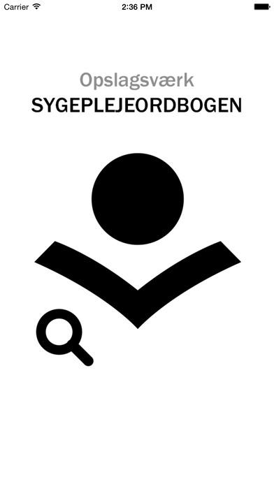 Screenshot for Sygeplejeordbogen in Denmark App Store
