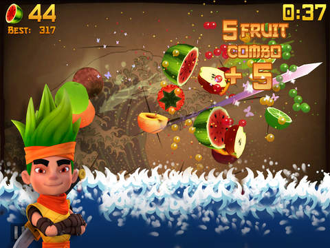 Screenshot 2 Fruit Ninja Classic