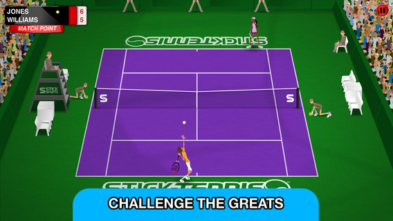 Stick Tennis Tour iPhone iPad