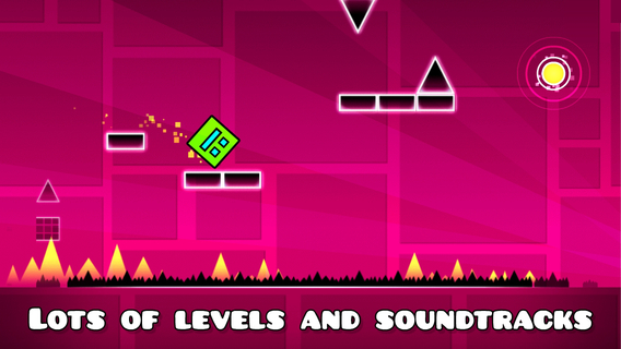 Screenshot 2 Geometry Dash