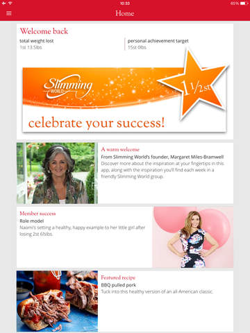 Slimming world on the app store on itunes Slimming world website please